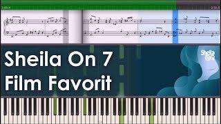 Sheila On 7 - Film Favorit (Instrumental Piano Tutorial)
