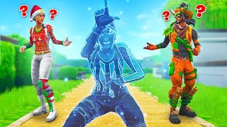 So We CHEATED In Hide & Seek Fortnite... (Invisible Glitch)