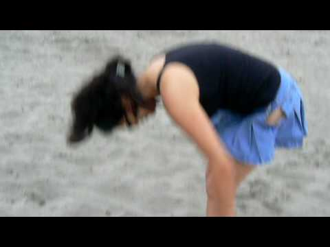 Nenitas en la playa