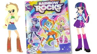 MLP Rainbow Rocks activity book My little pony