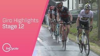 Giro d'Italia 2018   Stage 12 Highlights   inCycle
