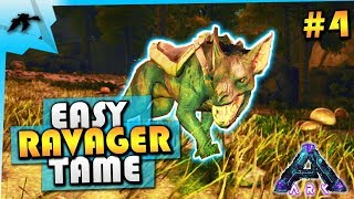 How To Tame A Ravager(Easy Taming Pen)-MrsTraa Aberration PVP Server-Ark Survival Evolved Xbox One