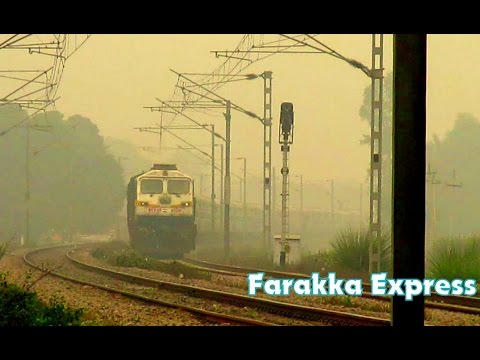 [IRI] Very Aggressive 3hr late Farakka Express Going towards Sultanpur with EMD