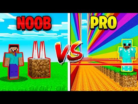 MINECRAFT NOOB vs PRO DEATH RUN