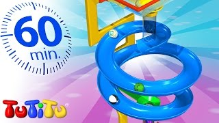 TuTiTu Specials | Marble Race | And Other Learning Toys for Toddlers | 1 HOUR Special
