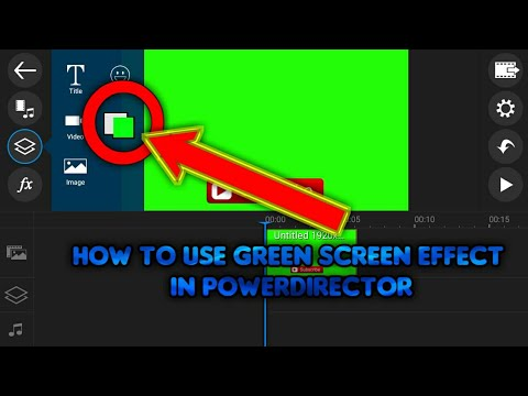 Xxx Mp4 How To Use Green Screen Effect In PowerDirector Without KineMaster 3gp Sex