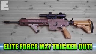 Elite Force M27 IAR Tricked Out! (Airsoft SC Village Viper Gameplay/Commentary)
