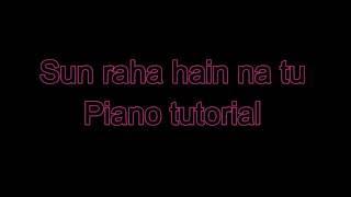 Sun Raha Hain Na Tu (Aashique 2) mobile piano tutorial...