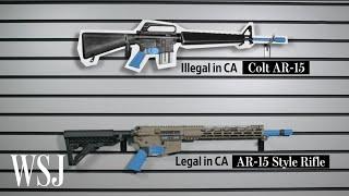 How Gunmakers Tweak Rifles to Get Around Assault Weapon Bans | WSJ