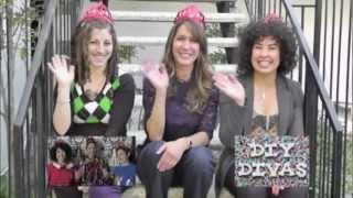 DIY Divas - Transform a Chair with Lace