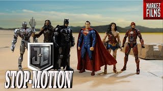Justice League   Stop Motion Animation