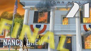 Nancy Drew 25: Alibi in Ashes Redux [21] Let's Play Walkthrough - FINAL ENDING - Part 21