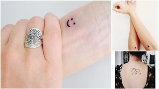 20 Perfect Tiny Tattoos That Everyone Will Love Vol. 2 █▬█ █ ▀█▀