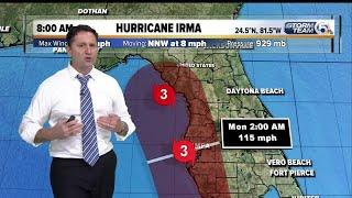 8 a.m. Irma update