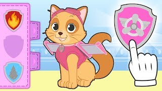 BABY PETS 🐾 Kira Dresses up as Skye of Paw Patrol | Cartoons for Children
