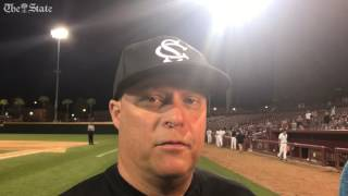 Gamecocks coach Chad Holbrook talks walk-off win over Alabama