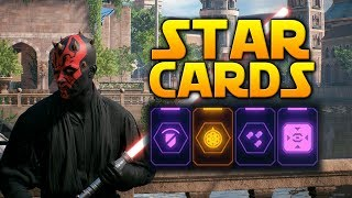 EPIC VS COMMON - Star Wars Battlefront 2 (Star Card Overview & Comparison)