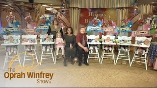 Here's a Typical Day for Parents Raising 7 Babies | The Oprah Winfrey Show | Oprah Winfrey Network