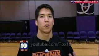 Guy who dunked himself interviewed on FOX 1/28/11