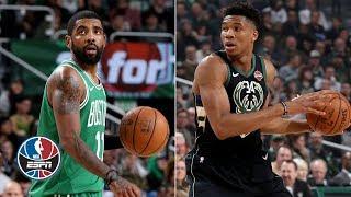 Kyrie Irving misses game winner as Celtics fall to Giannis Antetokounmpo, Bucks   NBA Highlights