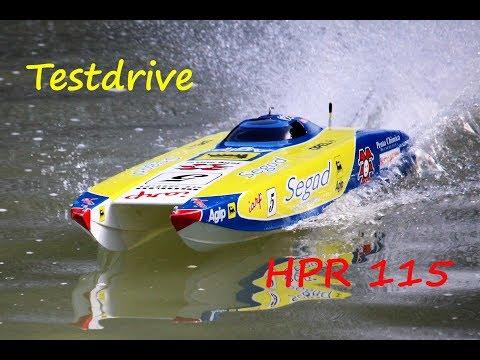 Speedboat HPR 115 Segad