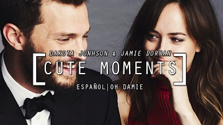 Dakota Johnson & Jamie Dornan Cute Moments 1 (SUBTITULADO)