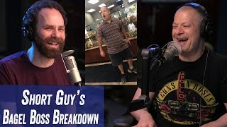 Short Guy's Bagel Boss Breakdown - Jim Norton & Sam Roberts