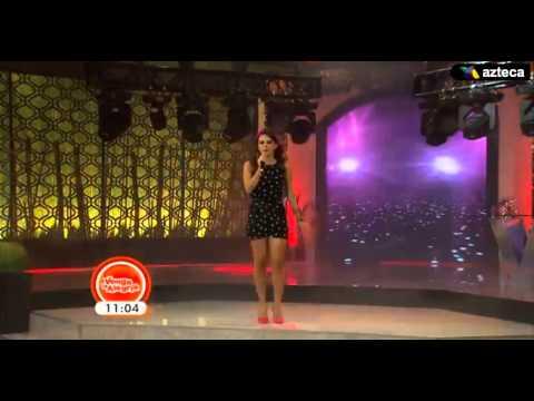 Tania Rincon La academia de venga la alegria 2014