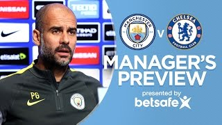 THE PLAYERS CAN DRINK COCA COLA! | Man City v Chelsea | Guardiola Press Conference