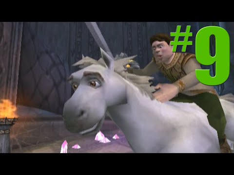 Shrek 2 Game Walkthrough Part 9 The Mines No Commentary Gameplay Gamecube Xbox PS2