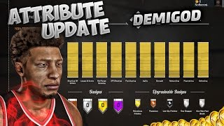 NBA 2K17 POINT GUARD BUILD ! ATTRIBUTE UPDATE + SIGNATURE STYLES ! BEST POSITION MyPark Demigod