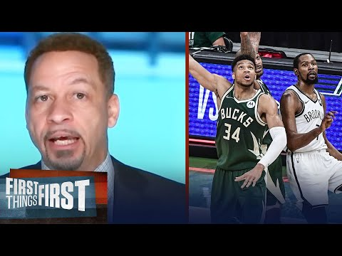 Right now Giannis deserves the crown over Kevin Durant —Broussard NBA FIRST THINGS FIRST