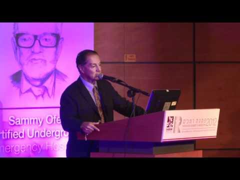 Eyal Ofer inaugurates the Sammy Ofer Emergency Hospital