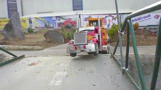 BIG LOAD! CAT D9 TRANSPORT l King Hauler  heavy load!