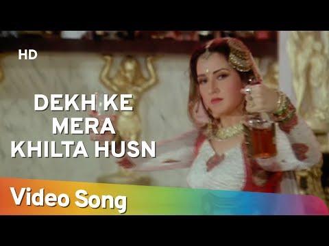 Dekh Ke Mera Khilta Husn - Mujra - Zeba Bakhtiyar - Amrish Puri - Jai Vikraanta - Bollywood Songs