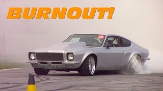 Motor Show 2017 - Tentativa de quebra do record de Burnout!