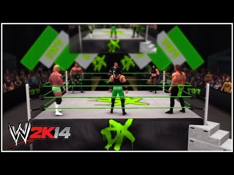 WWE 2K14: D-Generation X 6 Man (Well, 5 Man & 1 Woman!) Battle Royal In The DX Arena!