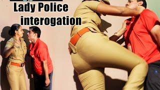 police Custody Sreya interogation | bustings | kick | slap | shouting scene HD