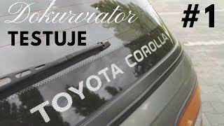 Toyota Corolla TEST (pancerna Karolina)-Jazda z Dokurviatorem