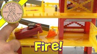 Tonka Tinys Rescue Response Station Play Set - Bonus Garage Trucks!