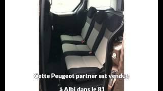 Peugeot partner occasion visible à Albi présentée par M auto albi