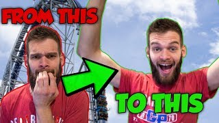 Top 5 Tips To Not be Scared of Roller Coasters and Ride Any Ride!