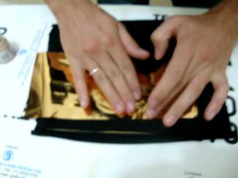 transfer em tecido mauro tavares aplicação de foil em tecido