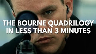 The Bourne Quadrilogy In Less Than 3 Minutes