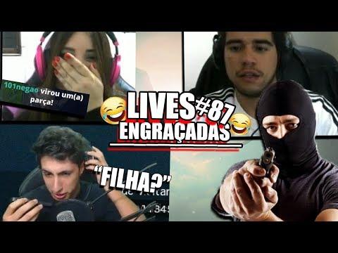 BANDIDO LIGA PRA STREAMER AO VIVO, GAROTA É TROLLADA E MAIS | 😆 LIVES ENGRAÇADAS #87 😆