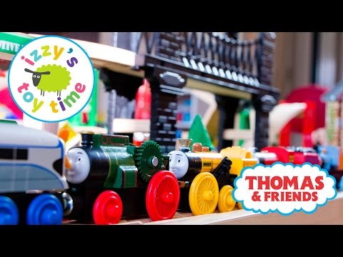 Thomas and Friends Thomas Train Nap Track Part 2 With Brio and Imaginarium Toy Trains for Kids