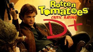 SOLO A STAR WARS STORY ROTTEN TOMATOES CRITICS SCORES = D+