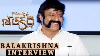 Balakrishna Interview About Gautamiputra Satakarni - Krish, #NBK100
