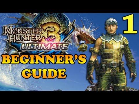 Beginner's Guide To Monster Hunter (Part One)