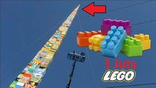 Inilah Objek Terbesar dan Tertinggi yang Pernah Dibuat Menggunakan Lego !